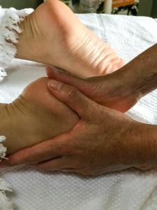 beauté des pieds massage